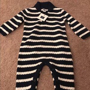 Janie & Jack 6-12 months new knit onesie